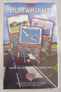 'Top Trumps' Trading Cards - Light Aircraft - Hayward Aviation - Sealed
